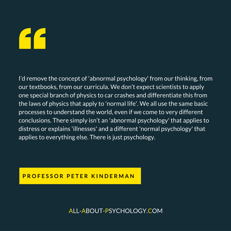 a discussion on abnormal psychology Study abnormal psychology discussion and chapter questions and find abnormal psychology study guide questions and answers abnormal psychology, author: ronald j comer - studyblue flashcards.