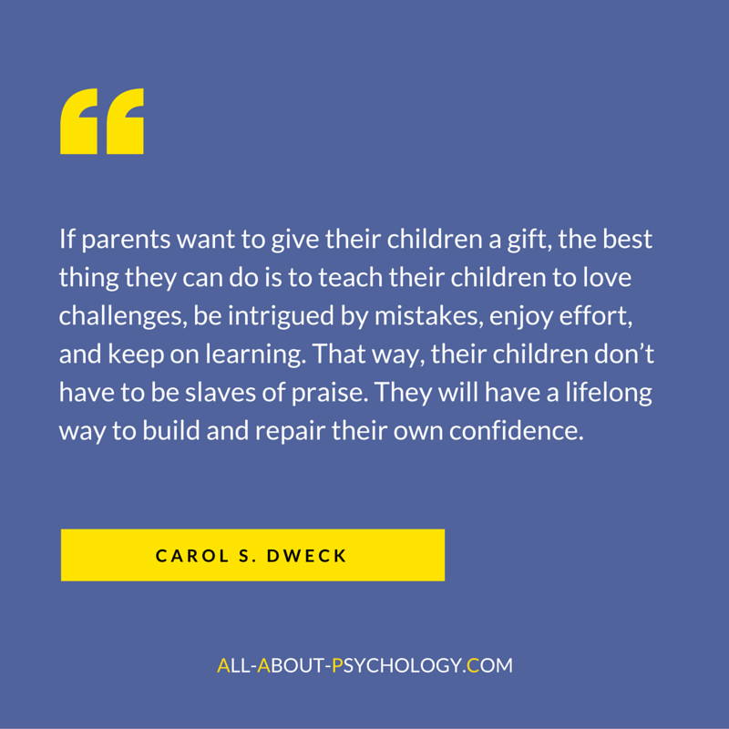 Great Quote by Carol Dweck