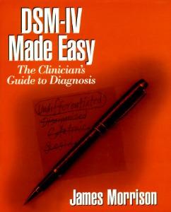 DSM-IV made easy book