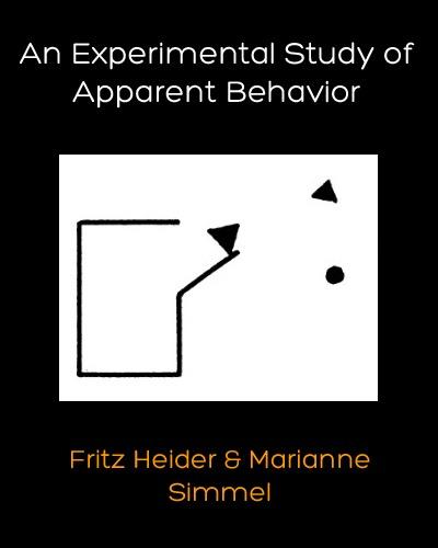 Fritz Heider Classic: An Experimental Study of Apparent Behavior