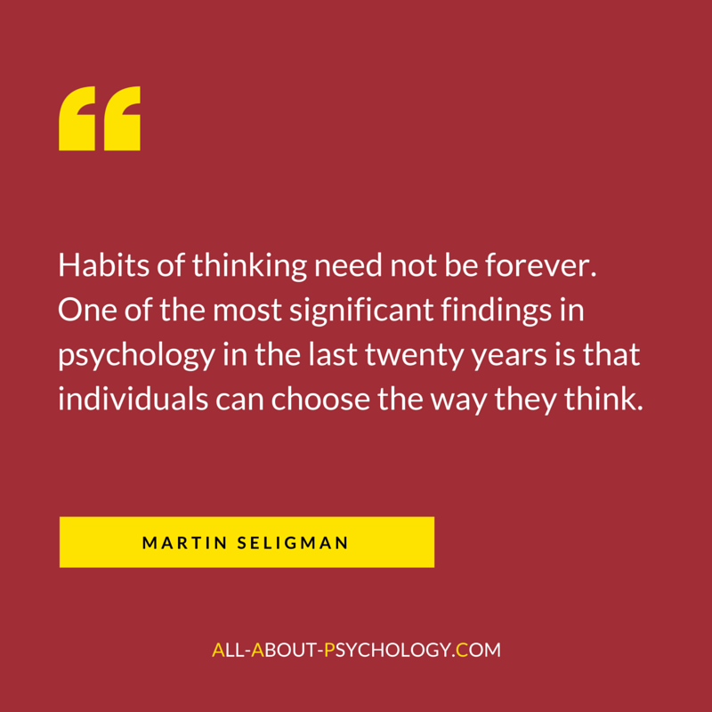 Martin Seligman Quote About Psychology
