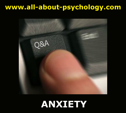 questions about anxiety