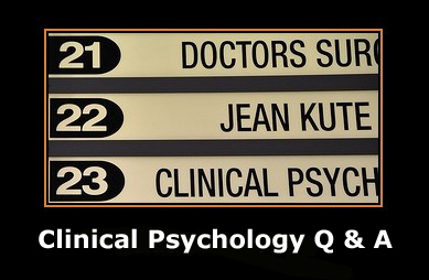 questions about clinical psychology