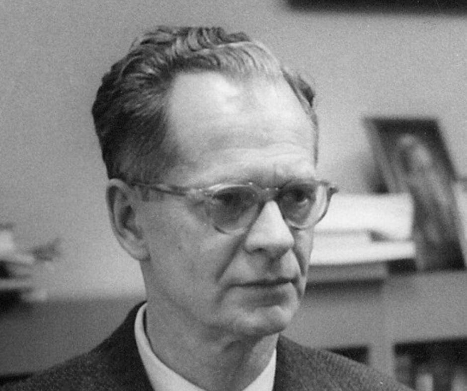 Photograph of psychology legend B.F. Skinner.