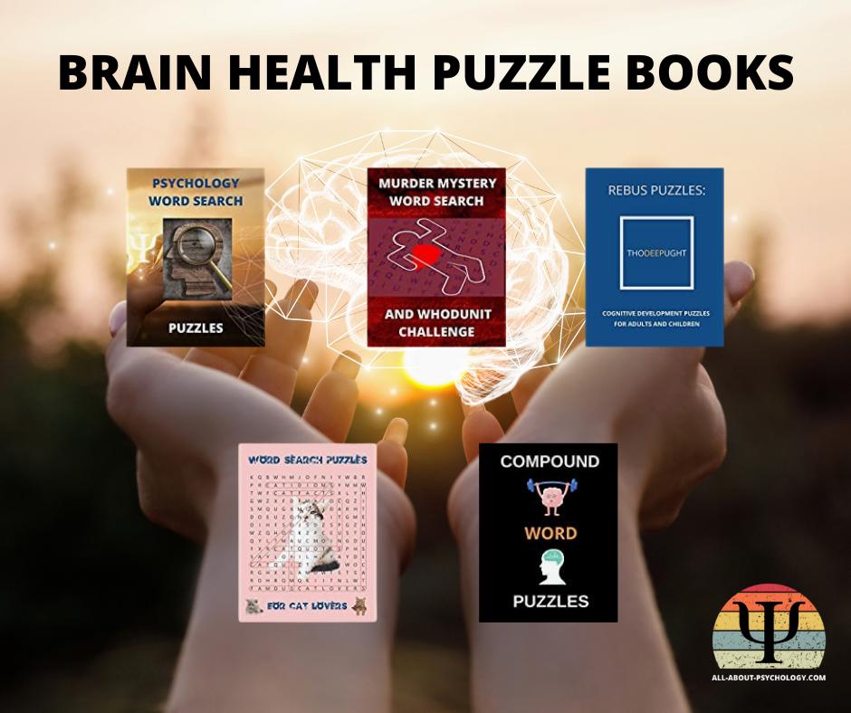 Brain Health Puzzle Books