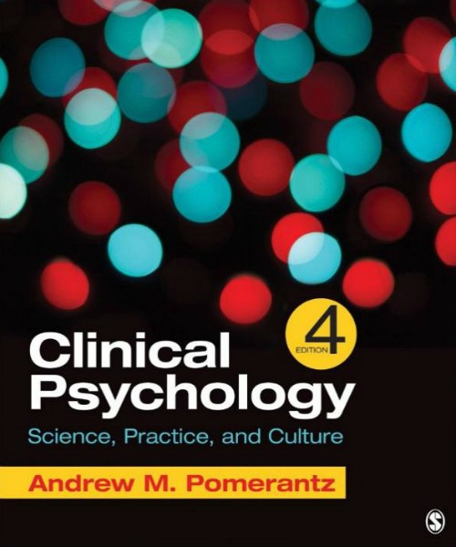 Clinical Psychology: Science, Practice, and Culture 4th Edition