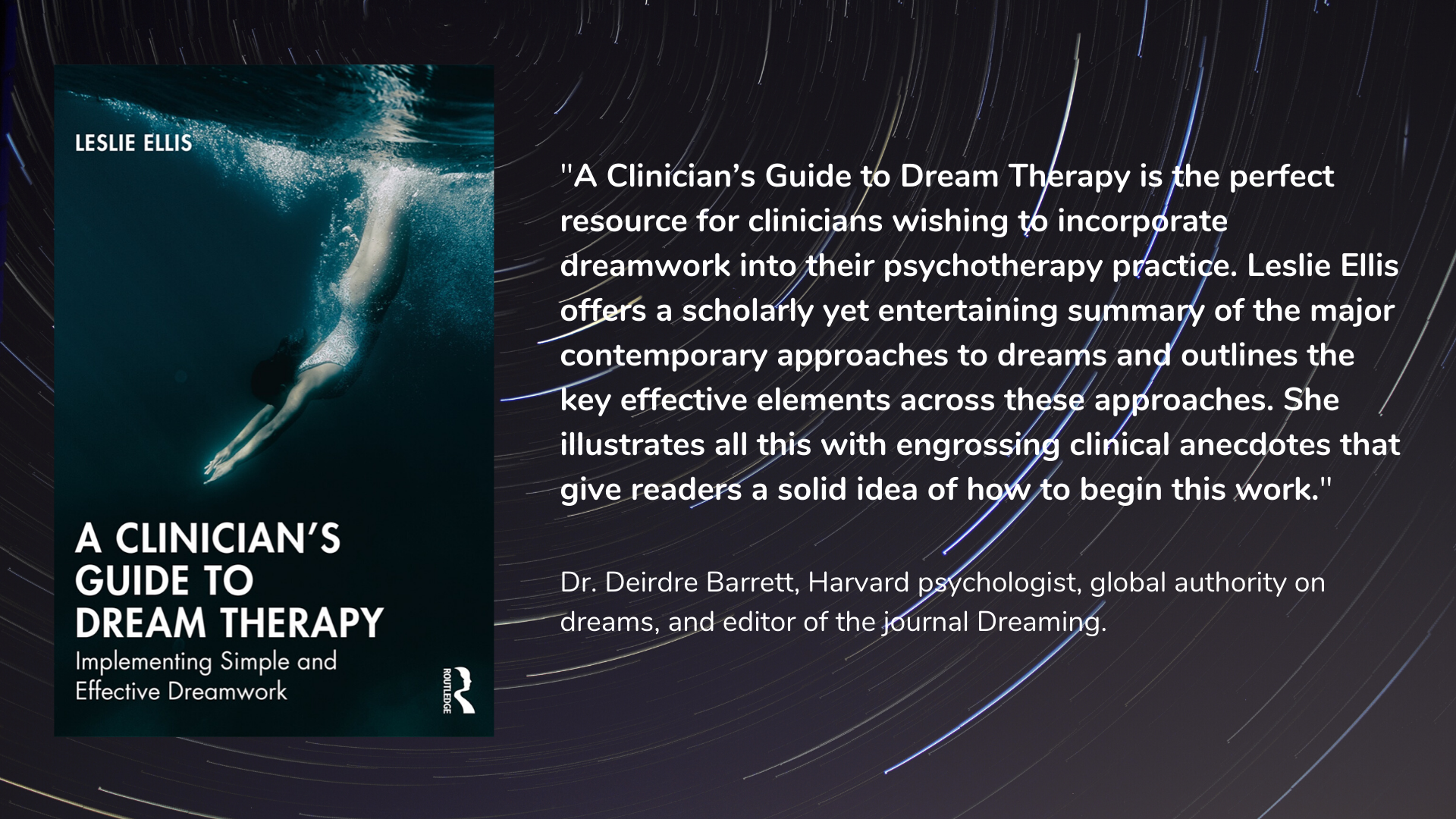 A Clinician's Guide to Dream Therapy by Dr. Leslie Ellis