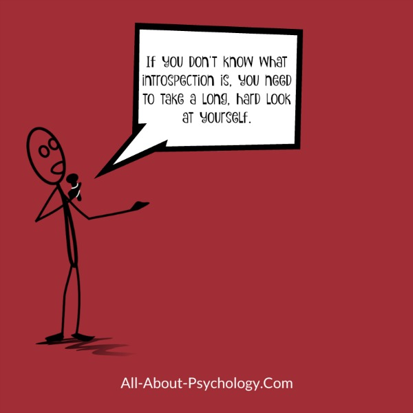 Great one-liner for psychology students