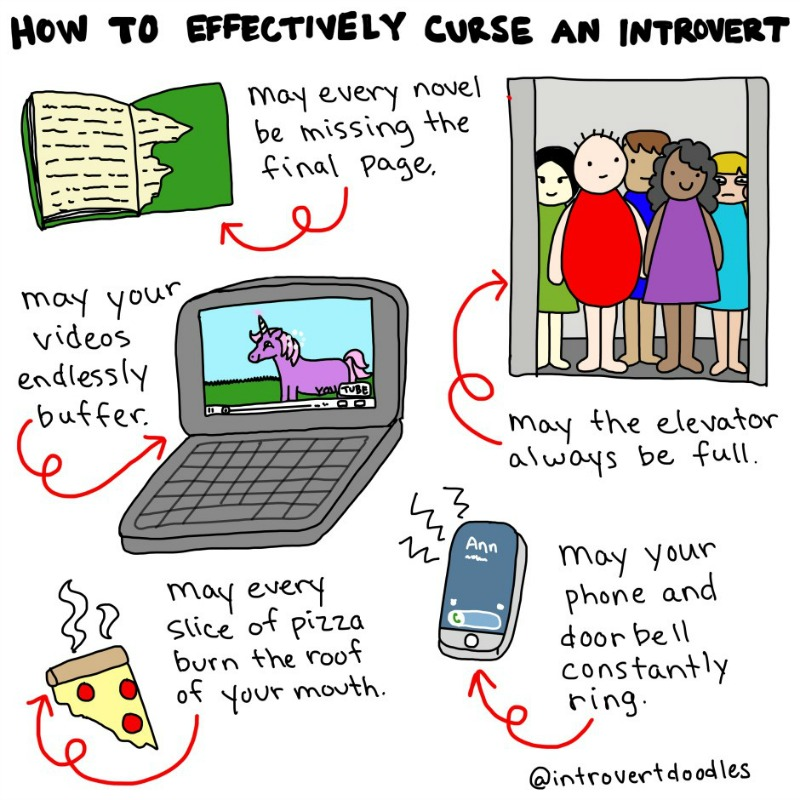How To Curse An Introvert