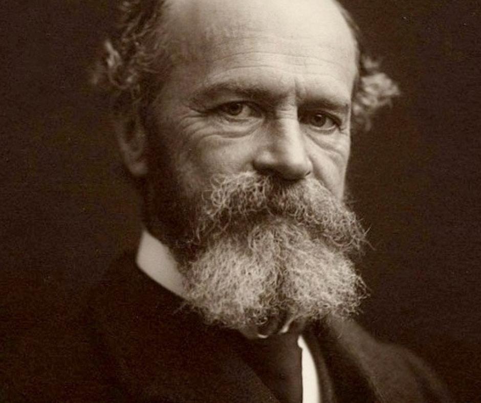 Photograph of psychology legend William James
