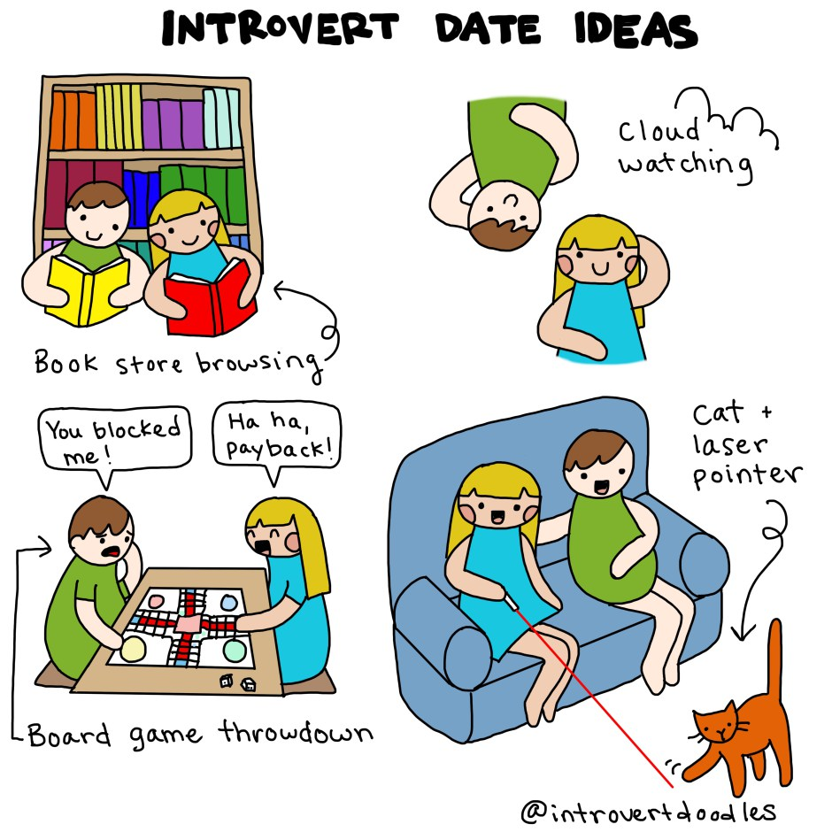 Introvert dating meme funny