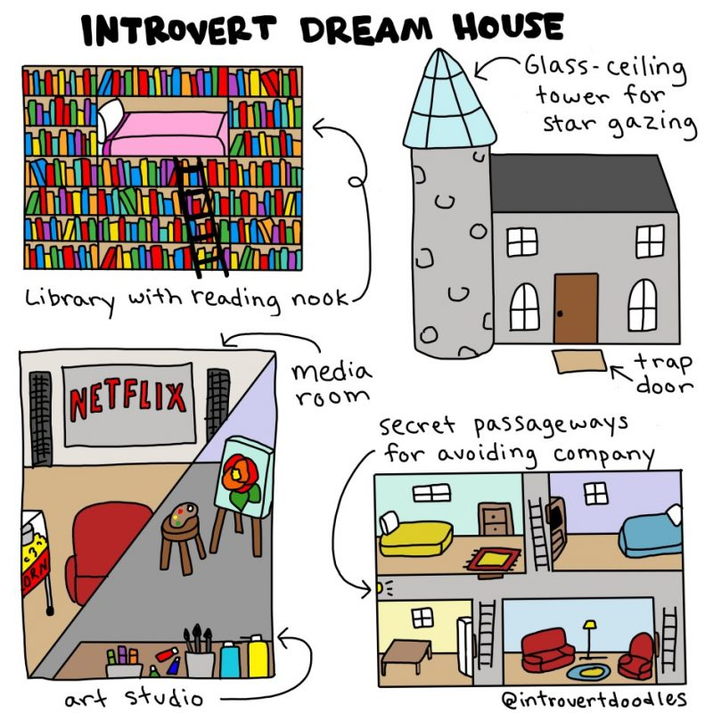 Introvert Dream House