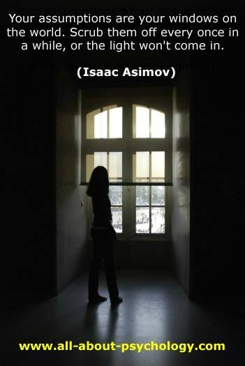 Isaac Asimov Quote About Assumptions