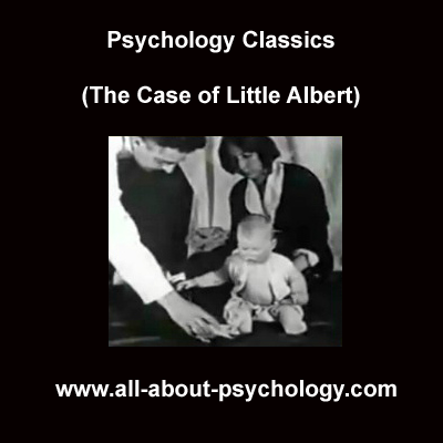 little albert and extinction The little albert experiment demonstrated that classical conditioning—the association of a particular stimulus or behavior with an unrelated stimulus or behavior—works in human beings in the.