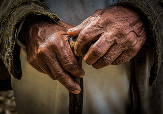 Old Hands by Sharada Prasad, on Flickr