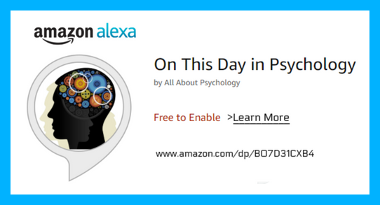 On This Day in Psychology Amazon Alexa