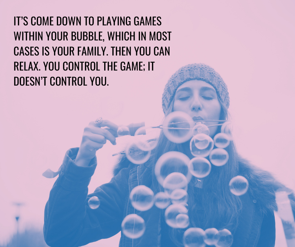 Quote from an article on play and the pandemic by renowned psychotherapist and author, Ahron Friedberg, M.D.