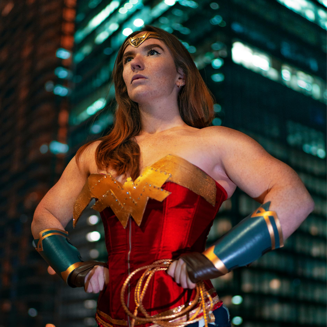 Wonder Woman Power Pose