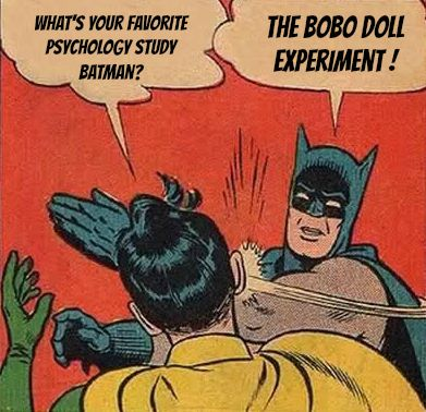 The Bobo Doll Experiment