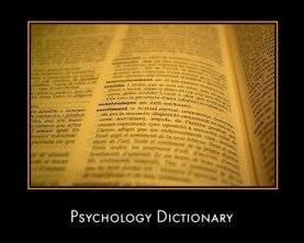 Psychology Dictionary Resources