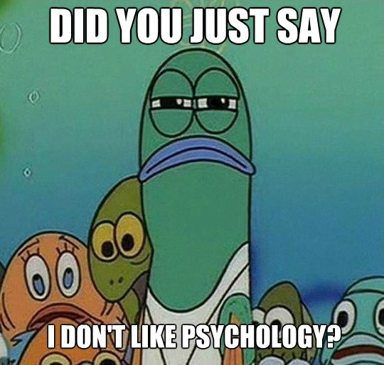10 memes psychology students will love