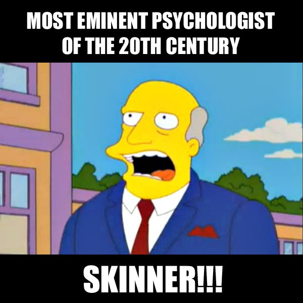 Skinner and Behaviorism