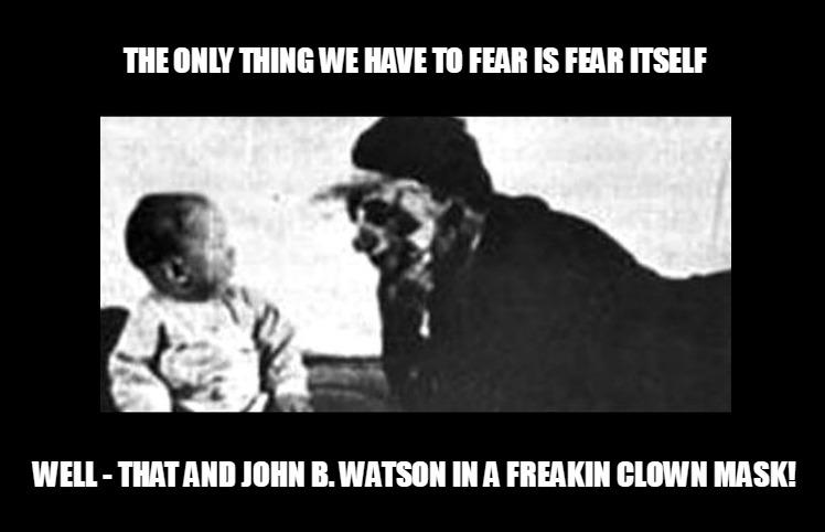 Little Albert Psychology Meme