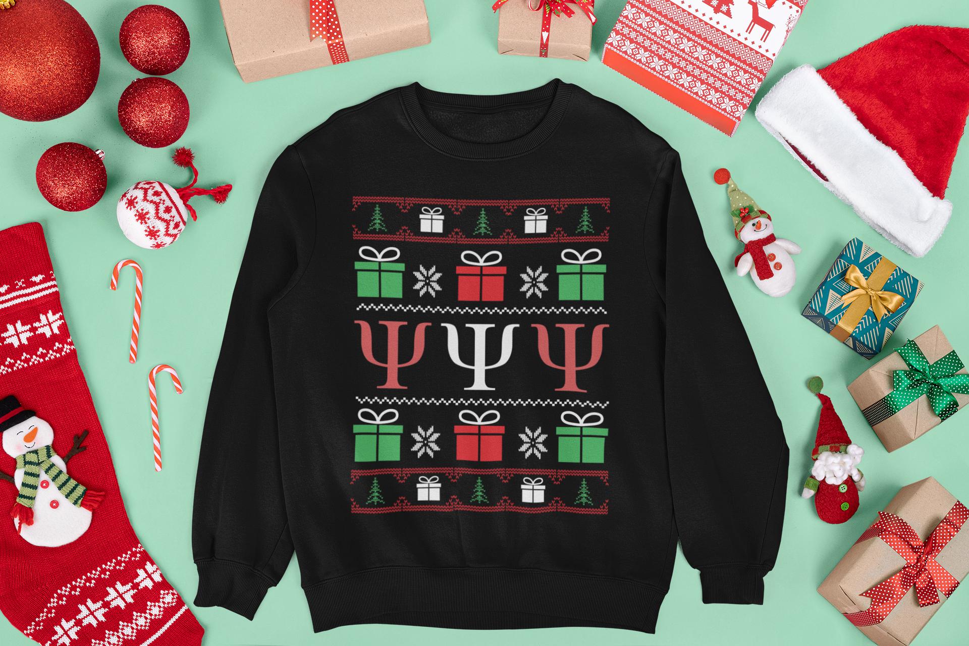 Psychology Christmas Sweatshirt