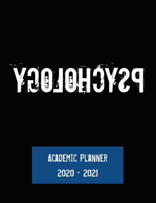 Reverse Psychology Academic Planner