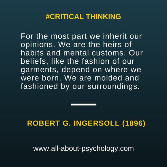 Great quote by Robert Ingersoll