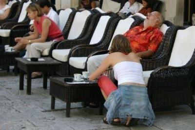 Falling Asleep on The Job!