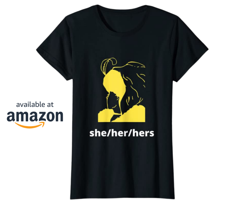 She Her Hers Preferred Gender Pronouns T-Shirt