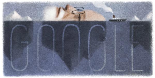 Sigmund Freud Google Doodle