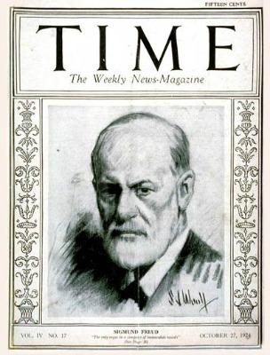 Sigmund Freud Time Magazine Cover 1924