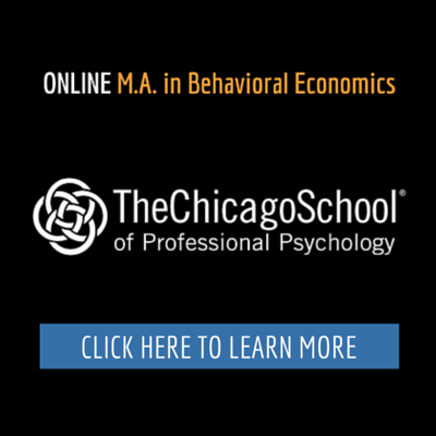 Online Master of Science in Behavioral Economics at The Chicago School of Professional Psychology