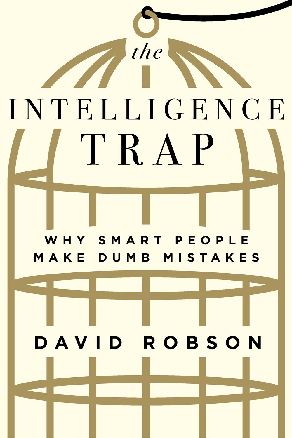 The Intelligence Trap Book Cover.