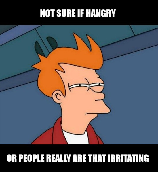 When Does Hungry Become Hangry?