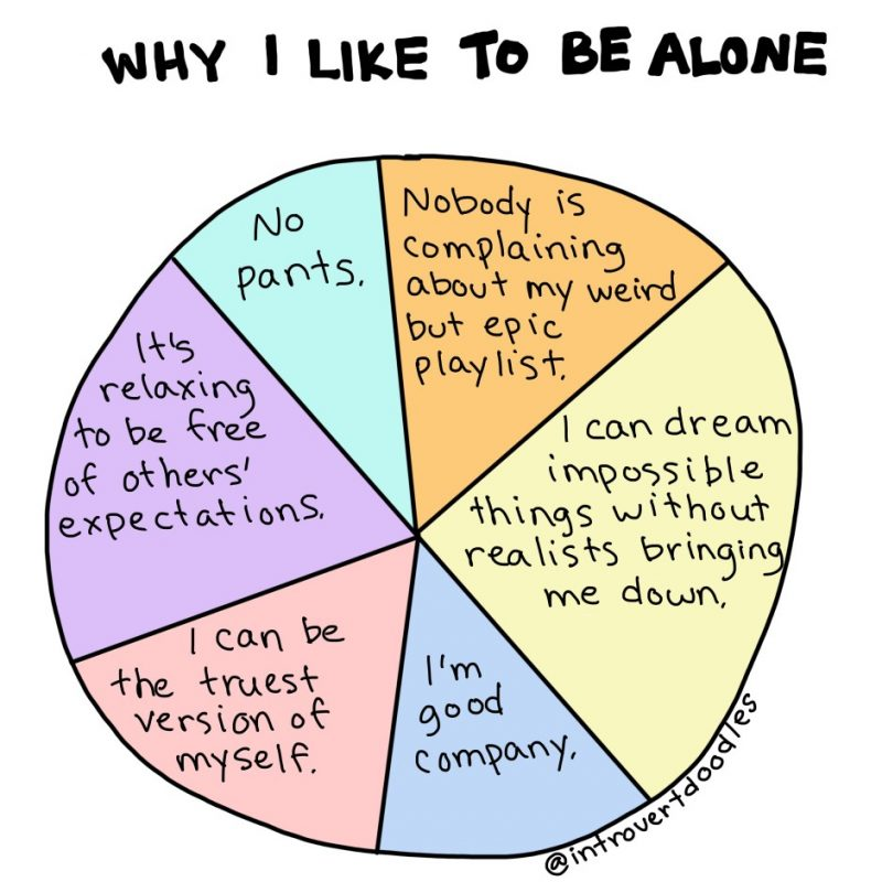 Why Introverts Like To Be Alone