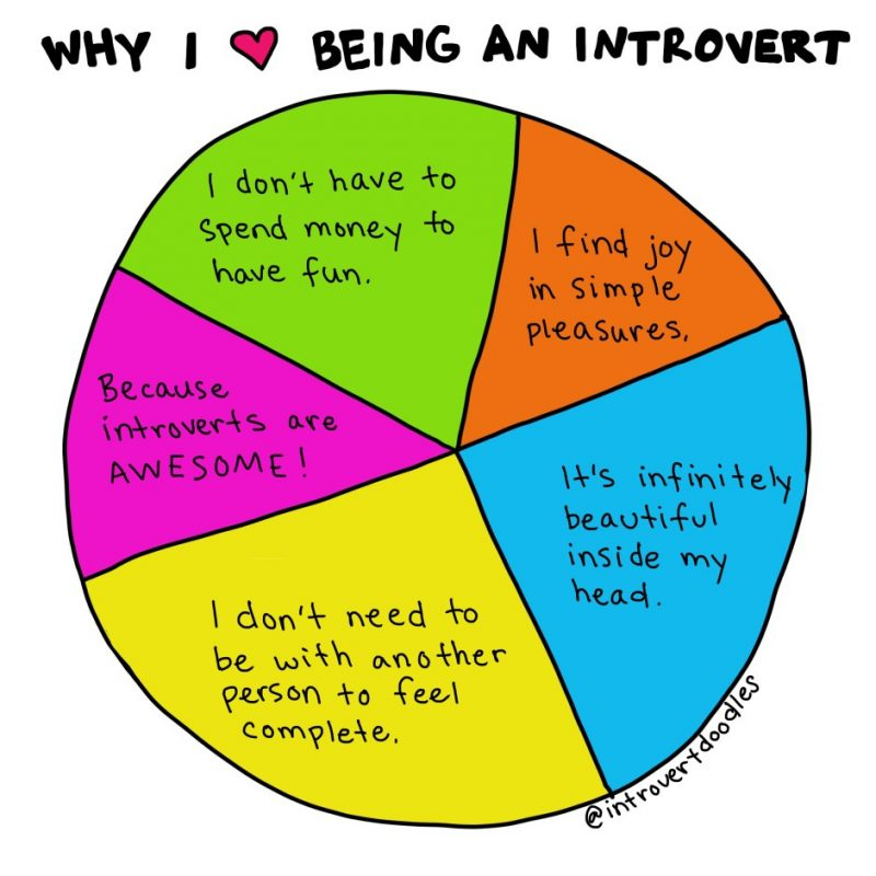 Why I Love Being An Introvert