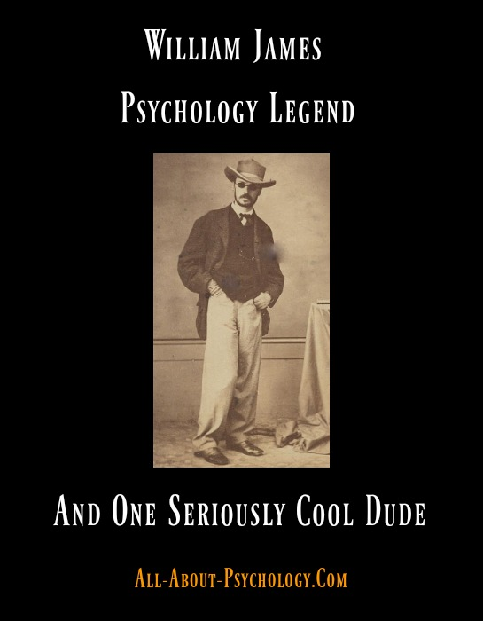 William James Psychology Legend