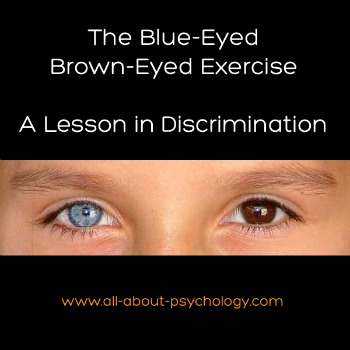 Blue-Eyed Brown-Eyed Exercise