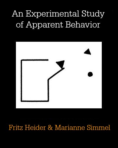 An Experimental Study of Apparent Behavior by Fritz Heider and Marianne Simmel
