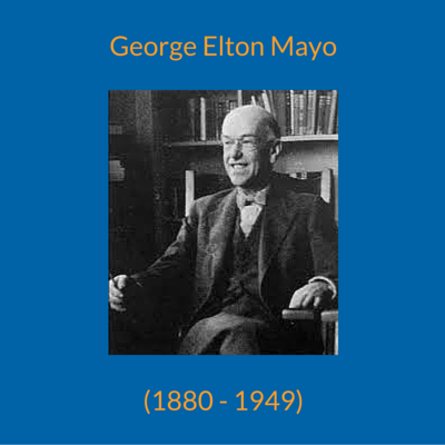 the involvement of elton mayos to the western electric researches Search the history of over 335 billion web pages on the internet.