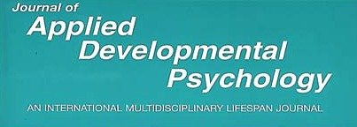Journal of Applied Developmental Psychology