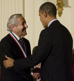 Neuropsychologist, Mortimer Mishkin was presented with the prestigious National Medal of Science from President Barak Obama in a ceremony at the White House in November 2010.