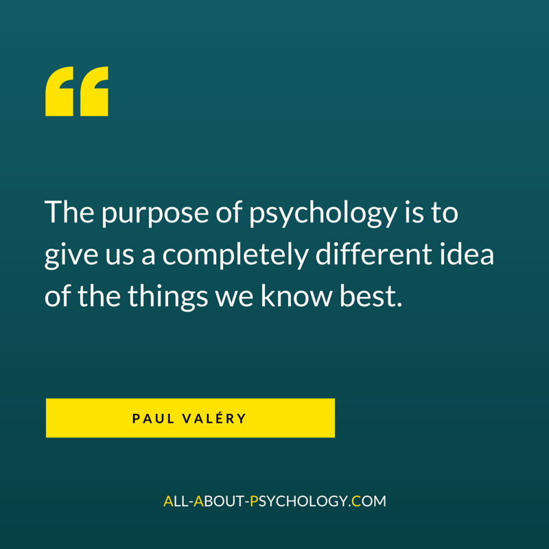 Paul Valéry Quote About Psychology