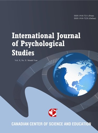 The International Journal of Psychological Studies.