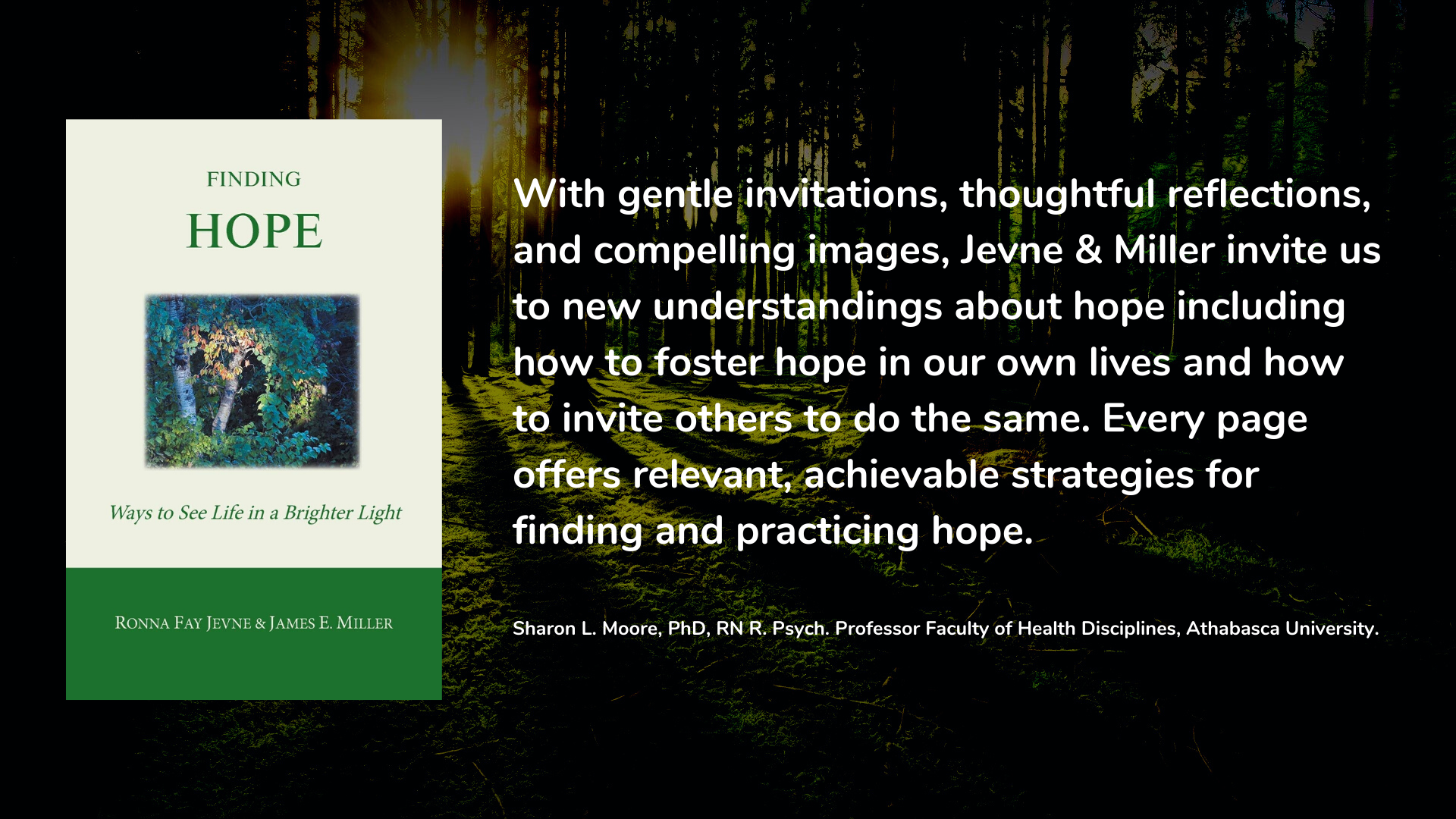 Finding Hope: Ways of Seeing Life in a Brighter Light