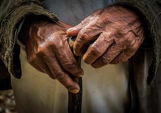Old Hands by Sharada Prasad, on Flickr