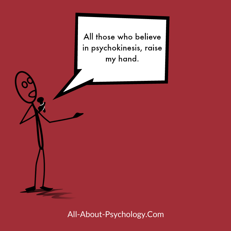 Psychokinesis Joke